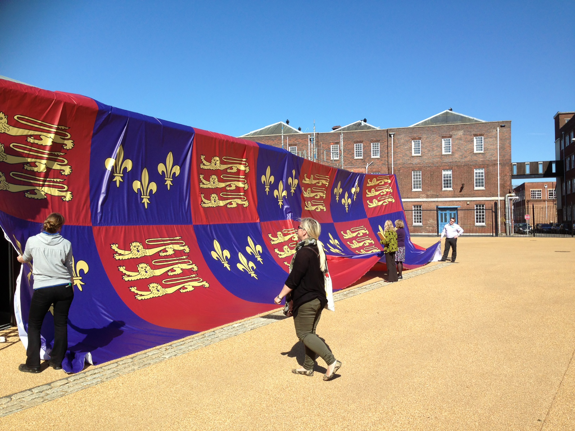 Unveiling of Mary Rose Museum In Portsmouth Historic Dockyard