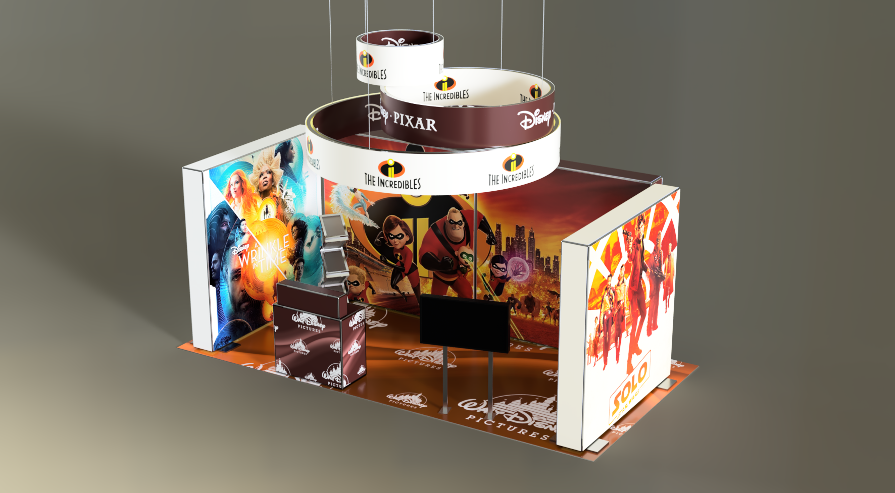 Exhibition Stand – 012