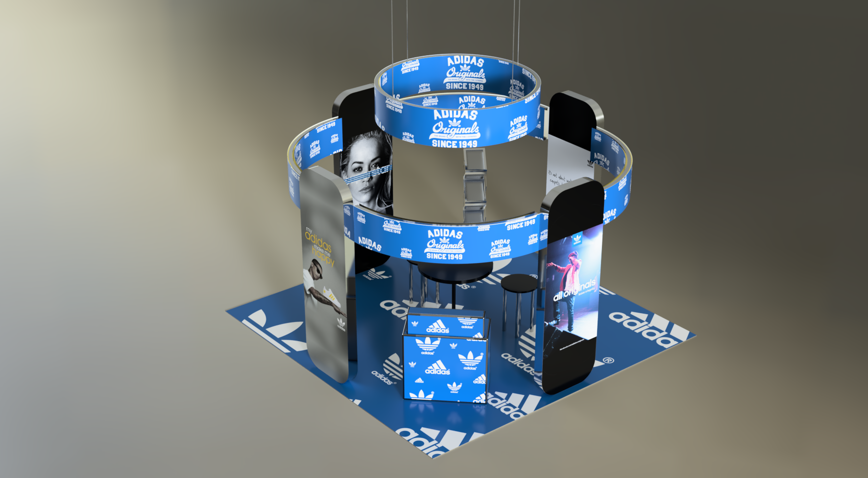 Exhibition Stand – 014