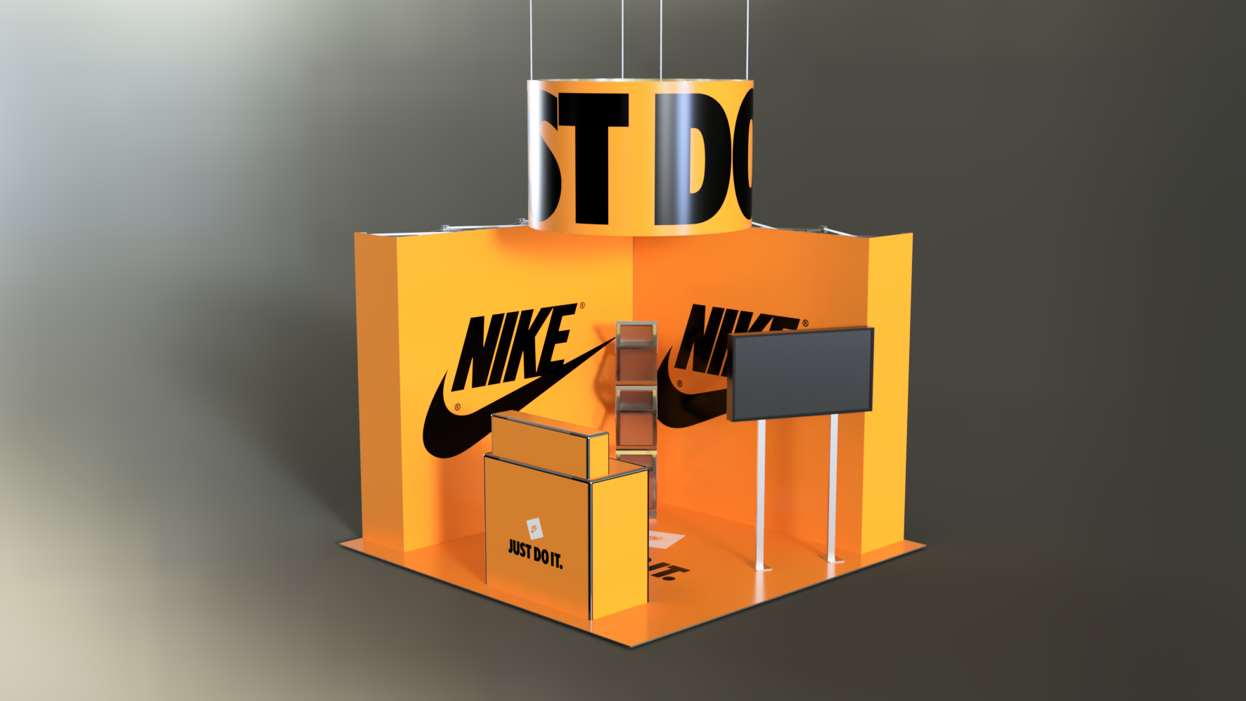 Exhibition Stand – 016