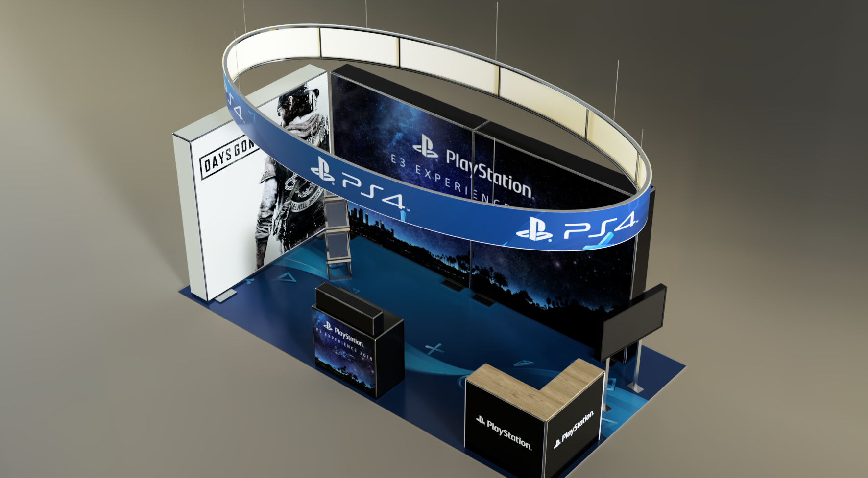 Exhibition Stand – 009